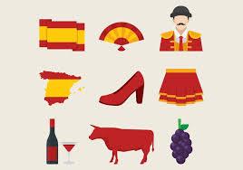 Traditional Symbols Spanish Traditional Symbols Set Download Free Vector Art Stock