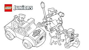 Small Picture Free Printable Lego Police Coloring Pages High Quality Coloring