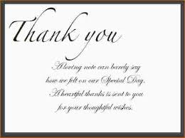 Thank You Notes Simple Thank You Note Under Fontanacountryinn Com