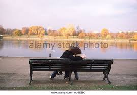 lovers furniture london. lovers embrace on bench in hyde park london stock image furniture r