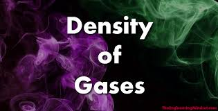 Density Of Gases The Engineering Mindset