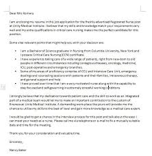 One Of The Many Examples Of Nursing Cover Letters Has Been