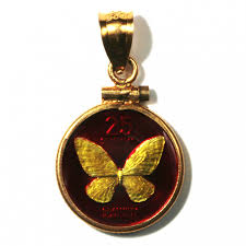 philippines enameled jewelry coin pendant erfly 25 sentimos 1994 w bezel black mountain coin