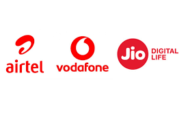 Airtel Vodafone And Reliance Jio All Mobile Tariff Plans