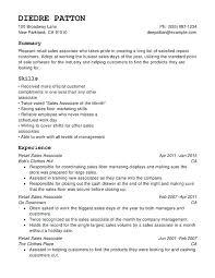 Resume Of Sales Associate Resume Samples Sales Associate Furniture ...