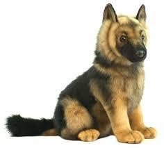 hansa мягкая игрушка щенок волка стоящий 30 см