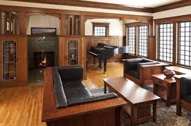 70 craftsman style living room ideas