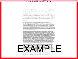 louisiana purchase essay custom paper help louisiana purchase 1803 essay how were hitlers stalins laws goals philosophies similar louisiana purchase