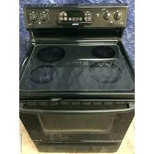 electric range top. Glass Top Electric Range Stove Fantastic Black Self Cleaning By