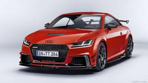 2018 audi exclusive colors. plain colors 2018 audi tt rs performance parts color catalunya red  front picture on audi exclusive colors i