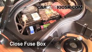 replace a fuse 2003 2008 infiniti fx35 2006 infiniti fx35 3 5l v6 6 replace cover secure the cover and test component