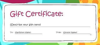 Gift Certificate Letter Template Gift Certificate Letter Template Download Card Donation
