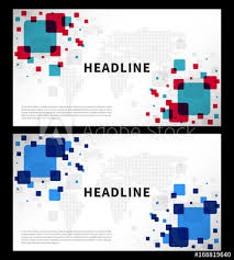 Abstract Cover With Colorful World Map Vector Illustration Title