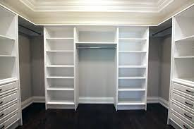 walk in closet organizers white off storage diy