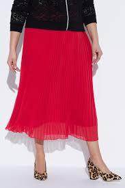 Chiffon Pleated <b>Elastic</b> Waist <b>Lined</b> Maxi Skirt   Skirts   Skirts   Ulla ...