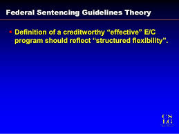 Structured Sentencing Chart 308 Is Government Credit For Compliance Programs Real Scce
