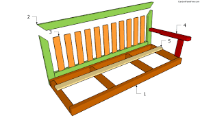bench swing plans free garden how to build projects backyard build