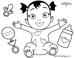 Vampirina Coloring Pages For Kids