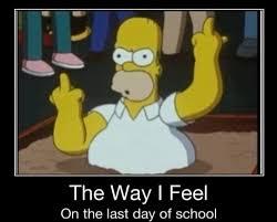 Last day of School via Relatably.com