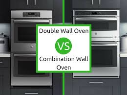 double wall oven vs combination wall oven what s the difference