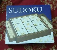 Wooden Sudoku Game Board BITS AND Pieces Deluxe Wooden Sudoku Game BoardComes With 84