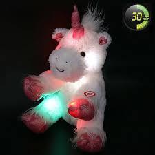 Light Up Stuffed Unicorn Kids Plush Unicorn Stuffed Animal Toy Led Light Up 12 Inch Soft Gift New