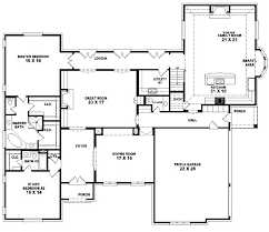 five bedroom house plans one story 1 story 5 bedroom house plans photo 1 4 bedroom