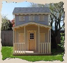 condo outdoor playhouse plan