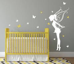 baby girl room decor fairy wall decal w erflies vinyl