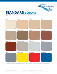 Net System Colors Chart Dpf Color Charts Desert Polymer Flooring Inc