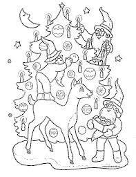 Kerstpagina Pinkelotje Kleurplaten