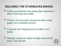 managing a high growth brand ppt video online  building the starbucks brand