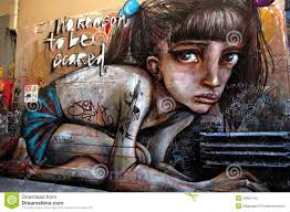 >street art in australia graffiti wall in melbourne editorial stock  download comp