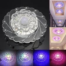 modern 3w crystal led ceiling down