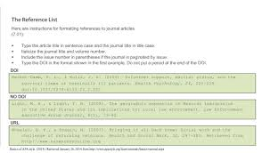 writing across the curriculum apa resources courtesy of lori reference list examples of citing journal articles jpg