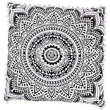 ethnic floor cushions. Wonderful Ethnic 26x26 Euro Pillow Shams Decorative Cushion Cover Large Meditation Pillow Ethnic  Floor Cushion Boho Mandala Cases Pattern 1 And Cushions
