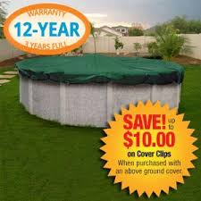 Arctic Defender Plus 18x33 Oval Winter Cover for Above Ground Pools