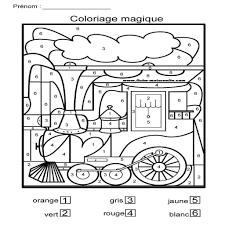 24 Dessins De Coloriage Magique Gs Imprimer L L L