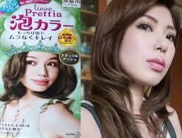 Liese Hair Dye Color Chart Kao Liese Prettia Natural Ash Foaming Hair Dye Before After