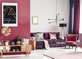 ideas for decorating with purple