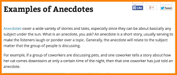 how to write an anecdote in an essay rio blog 4 how to write an anecdote in an essay