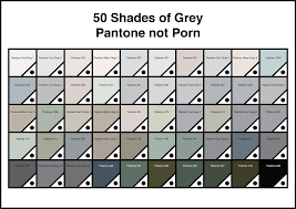 50 Shades Of Gray Color Chart Shades Of Grey