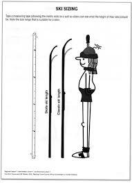 Ski Length Height Chart Ski Pole Sizing Chart Spokane Nordic Ski