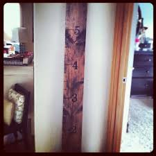 Diy Pottery Barn Inspired Growth Chart Frugal Version