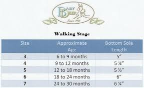 Baby Boy Size Chart Details About Baby Deer Red Sparkle Mary Jane Shoes W Flower Baby Toddler Size 3 4 5 6 7