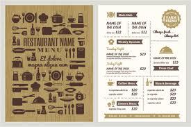 pages menu template free menu templates download free menu template restaurant menu