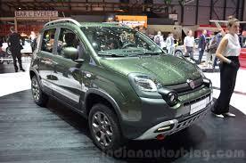 Fiat Panda 4X4 Cross at the 2016 Geneva Motor Show - Indian Autos blog