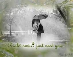 romantic rainy day wallpaper with quotes