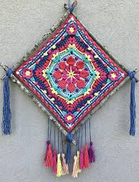 I stopped whatever, less important, thing i was. Ravelry Makila Wall Hanging Pattern By Sandra Salas