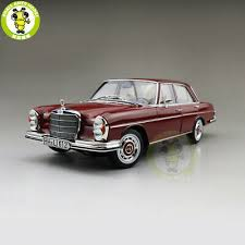 The german car maker consistently pushes the edge of automotive technology and is often the first brand to market new innovations. 1 18 Norev 1968 Mercedes Benz 280 Se Red Diecast Metal Car Suv Modelstoys Gift Ebay